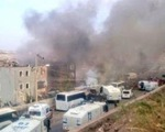 Đánh bom đồn cảnh sát Thổ Nhĩ Kỳ, hơn 70 người thương vong