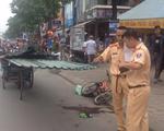 Bé trai 9 tuổi tử vong do đâm phải xe chở tôn