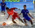 Lịch thi đấu tứ kết bóng đá bãi biển tại ABG 5-2016: Việt Nam đọ sức với Lebanon