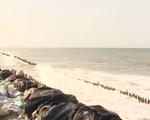 Bờ biển Cửa Đại tiếp tục sạt lở nghiêm trọng