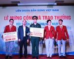 Hoàng Xuân Vinh nhận thưởng nhiều nhất lịch sử thể thao