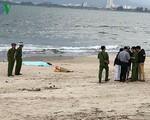 Phát hiện 1 thi thể trôi dạt vào bờ biển Đà Nẵng