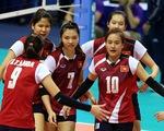 Cúp bóng chuyền nữ châu Á 2017: ĐT Việt Nam thắng trận ra quân