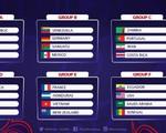 Bốc thăm chia bảng VCK World Cup U20 2017: U20 Việt Nam nằm ở bảng E cùng U20 Pháp, Honduras, New Zealand