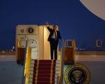 Tổng thống Mỹ Donald Trump đến Hà Nội, bắt đầu chuyến thăm chính thức Việt Nam