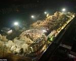 Trung Quốc: 19 tòa nhà được phá cùng lúc trong 10 giây