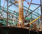 Thống nhất phương án sửa chữa tàu vỏ thép Bình Định