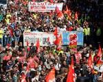 Hơn 100 người bị bắt giữ sau biểu tình bạo lực tại Pháp - ảnh 1