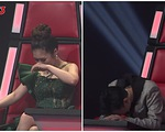 Giọng hát Việt nhí: Hương Tràm nấc nghẹn, Soobin gục đầu xuống ghế nóng khi loại thí sinh