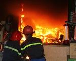 Hỏa hoạn tại Cung quy hoạch Quảng Ninh