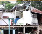 Mưa lớn khiến cây đổ đè sập nhà dân tại Đồng Tháp
