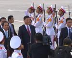Chùm ảnh: Chủ tịch Trung Quốc Tập Cận Bình đến Đà Nẵng