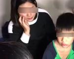Bé trai 9 tuổi nghi bị bố đẻ dùng dây điện đánh thâm tím người