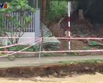 Người dân Nha Trang lo lắng khi kè sông Cái sạt lở nghiêm trọng