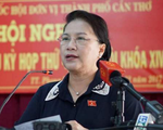 Chủ tịch Quốc hội tiếp xúc cử tri quận Cái Răng và quận Ninh Kiều của TP Cần Thơ - ảnh 1