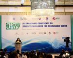 Hội thảo quốc tế Công nghệ xanh cho môi trường nước bền vững
