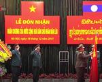 Tổng cục Tình báo Bộ Quốc phòng Việt Nam đón nhận Huân chương Lao động hạng Nhất của Lào