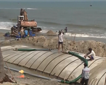 Phát hiện tàu hút cát trái phép tại Cửa Đại