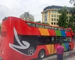 Cận cảnh xe bus 2 tầng dạo quanh thành phố Hà Nội
