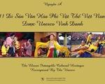 Độc đáo sách ảnh 11 di sản văn hóa phi vật thể