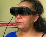 Mắt kính điện tử giúp người khiếm thị nhìn rõ