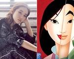 Disney đã chọn Lưu Diệc Phi cho vai Hoa Mộc Lan
