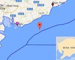 Chìm tàu ngoài khơi Vũng Tàu, 9 thuyền viên mất tích