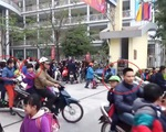 65 trẻ em không được đội mũ bảo hiểm khi tham gia giao thông