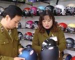 Chỉ 40 số mũ bảo hiểm mới đưa vào sử dụng ở Việt Nam đạt tiêu chuẩn