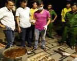 Nổ súng bắt nhóm người ở cơ sở nấu cao hổ tại Đồng Nai