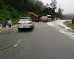 Quốc lộ 6 ngập sâu, chia cắt Hòa Bình và Sơn La