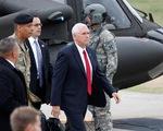 Phó Tổng thống Mỹ đến khu phi quân sự liên Triều