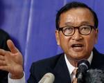 Campuchia: Tòa sơ thẩm Phnom Penh phạt tù cựu Chủ tịch đảng đối lập Sam Rainsy