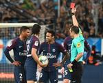 Neymar nhận thẻ đỏ 'lịch sử' trong màu áo PSG