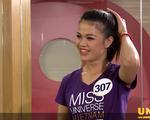 Loạt người đẹp Hoa hậu Hoàn vũ Việt Nam 2017 'vò đầu bứt tai' vì phải nói tiếng Anh