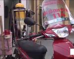 Xe máy cứu hỏa – Sáng kiến mới của lực lượng phòng cháy chữa cháy Hà Nội