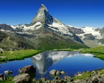 Bức tranh khổng lồ trên dãy Alps - ảnh 2