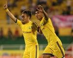 Lượt đi tứ kết Cúp Quốc gia 2017: SLNA 3-1 CLB TP Hồ Chí Minh