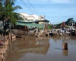 Thi công cống thoát nước làm sụp lún nhiều nhà dân ở Bạc Liêu