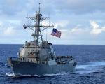 Tàu khu trục Mỹ vào vùng biển tiếp giáp Nga