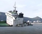 Vẫn chưa trục vớt được toàn bộ tàu bị chìm tại Quy Nhơn