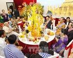 Nhiều hoạt động ý nghĩa chào đón Tết Bun Pi May ở Lào - ảnh 1