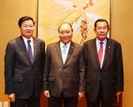 Thủ tướng Nguyễn Xuân Phúc gặp gỡ Thủ tướng Lào, Campuchia bên lề Hội nghị cấp cao ASEAN