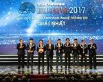 Trao giải Nhân tài Đất Việt 2017