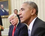 """Tổng thống Trump cáo buộc ông Obama """"nghe lén"""" điện thoại khi tranh cử"""