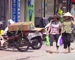 Tái diễn tình trạng lấn chiếm vỉa hè, đỗ xe không đúng quy định tại Đà Nẵng - ảnh 1
