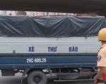Bất chấp pháp luật, xe tải trọng lớn vẫn lưu thông trong TP Hà Nội vào giờ cấm - ảnh 1