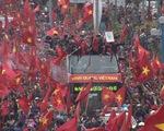 Lễ đón ĐT U23 Việt Nam: Các cầu thủ của chúng ta trở về trong biển người hâm mộ nước nhà!