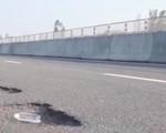 Cao tốc Đà Nẵng - Quảng Ngãi mới thông xe đã xuống cấp