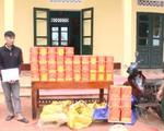 Quảng Ninh: Bắt đối tượng vận chuyển 120kg pháo nổ